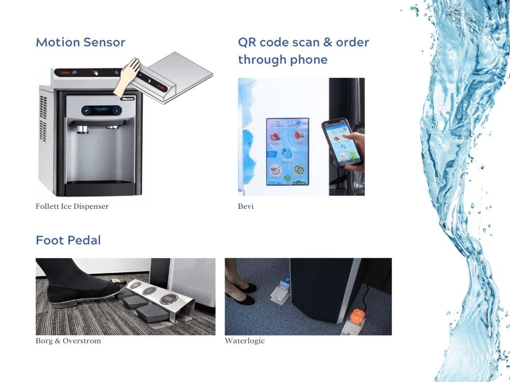 touchless water technology